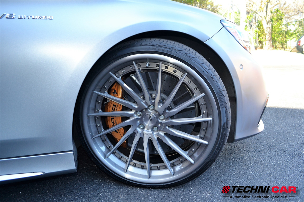 Mercedes Benz S63 Coupe ADV.1 wheels