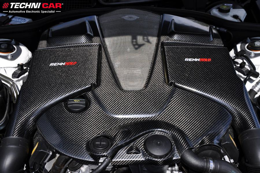 Mercedes Benz S65 Carbon Fiber air intake